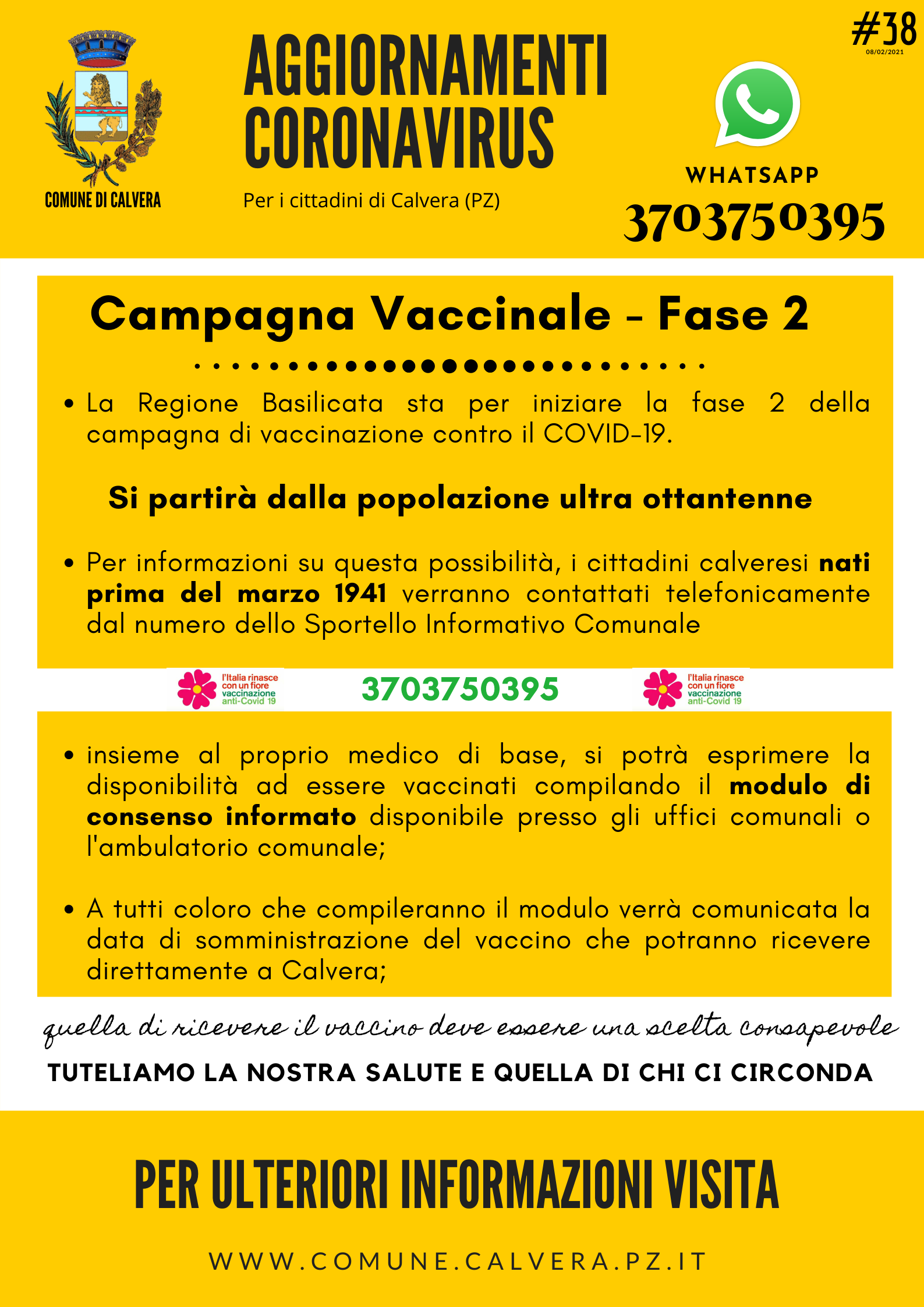 #38 - Campagna Vaccinale - Fase 2